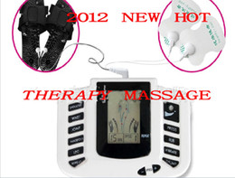Wholesale Electrical Stimulator Full Body Relax Muscle Therapy Massager Pulse tens Acupuncture with slipper