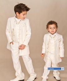 Wholesale Boys Ivory piece suit Boy wedding suits Boy Tuxedo