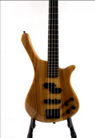 6 Strings bass harp - BASS string bass The Russian white yu harp body ebony refers to the board MM7rock bass Electric