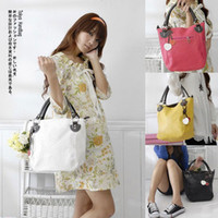 Women big luggages - 2015 Bags Luggages Accessories new fashion women bucket big shoulder bag handbag color