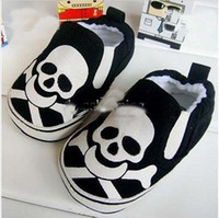 Wholesale Baby first walker shoes skull design baby shoes boy shoes boy s new