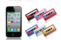 cassette case - Cassette Tape Soft Silicone Case back Cover for S mix colors