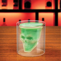 Handmade Skull Shaped Cups Wine Glasses