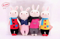 Wholesale New styles Popular Metoo tiramisu Rabbit plush toy doll Cute auspicious rabbit