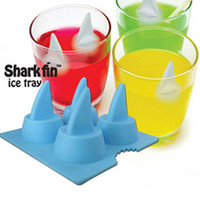New Fashionabl and Style Silikon Ice Mould The Shark Ice Cas...