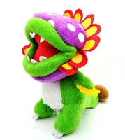 "New Super Mario Brothers Plush Figure - 8"" Dino Piranha"