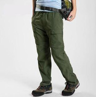 Wholesale New Men s Outdoor Camping Hiking Quick Dry Trousers Pants Detachable Pants UV Blocking B