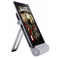 New iPad Audio Foldable Stand Metal Speaker BASS For iPad iP...