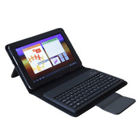 New Leather Case Cover with Bluetooth Keyboard for Samsung G...