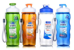 Wholesale High quality sports handy bottle Portable type kettle sports cups plastic cups ml
