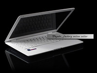 Wholesale AirBook Laptops D425 GHz GB GB Win7 OS quot Laptop Computer White Color DHL Shipping