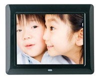 7''-8.99'' best digital frame - best gift quot Inch Lcd digital photo frame picture frame Mp3 Mp4 Player do drop shipping black