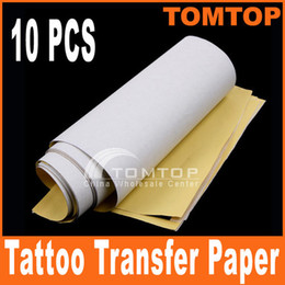Wholesale 10PCS set Master Tattoo Stencil Transfer Paper H8311