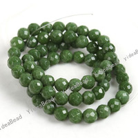 Wholesale 132pcs Green Natural Jade Loose Gemstone Beads Jade Beads mm Fit Diy Bead mm