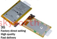 li polymer battery 3.7v - Fast Shipping Internal Standard V Original Battery for iPhone G Replacement Li ion Polymer