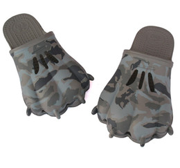 Wholesale 1 Pair Army Bear paw Slippers Vogue Men s Slipper Baboosh Sandals Color Fashion Slippers Drop Ship
