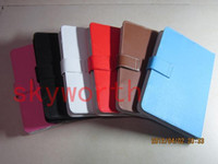 Wholesale 7 Leather Case Cases for Android Tablet PC Ainol NOVO Aurora VIA8650 Epad Netbook Stand Holder