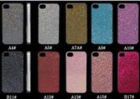 Wholesale Glitter Bling Bling pearl Shining Rubber Hard Case for Apple for iPhone s