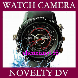 Wholesale Hot Mini DV GB CCTV Watch Camera DVR AVI FPS hidden camera Video Recorder Waterproof