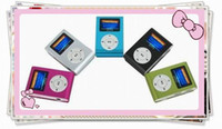 Wholesale Fashionable ONLY Clip mp3 player with screen card reader support GB SD card