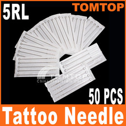 Wholesale 50Pcs Disposable Round Liner Sterilized Tattoo Needles RL needle H8313