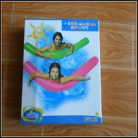 Wholesale Inflatable float row Floating pipe Water Toys Swimming floating bed CM FP7