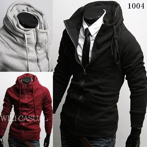 2014 New coats men outwear Mens Special Hoodie Jacket Coat men clothes cardigan style jacket free shipping