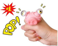 Wholesale Novelty Products Vent Toys Decompression Toys Vent Tool Cute Toy Extrusion Pop eyes Pig Big Model