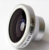 Wholesale PC Wide angle X Super Macro Fish eye in1 lens camera photo Kit Set