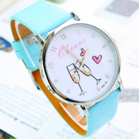 Wholesale 50pcs fashion watches business gift watch quartz watch leather wristband top quality wrist watch