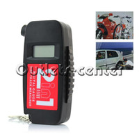 Wholesale 0 quot LCD in Digital Tire Pressure Gauge Tread Depth Measurer Black CE147365