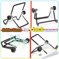 Wholesale Iron Metal Adjustable Folding Holder Stand For Ainol ELF Aurora Flytouch3 Android tablet PC