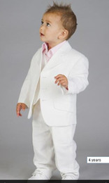 Wholesale Baby White Linen Suit