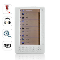 Wholesale New Mebook Inch High Resolution eBook Reader Super Media Player GB from Yitech e book