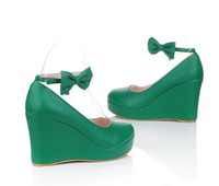 Wholesale 2013 new women s high heeled shoes the green slope with all match shoes wedding shoes single shoes