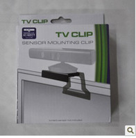 Wholesale for XBOX kinect TV clip TV clip for xbox kinect sensor for XBOX TV mount clip retail col