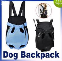 Wholesale Size amp Color Nylon Pet Dog Carrier Backpack Net Bag Any dog harness