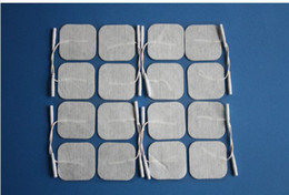 Wholesale 400pcs EMS good quaity Non woven Self Adhesive Tens Machine Electrode Pads therapy massage pad
