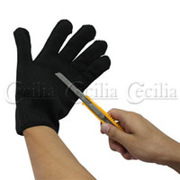 Wholesale for security Pair of Durable Self Defense Device Weapon Tool Anti Static Cut Resistant Slash Gloves
