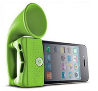 Wholesale 2012 New Arrives New Horn Stand for iPhone4 Bone Collection Amplifier