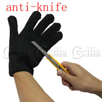 Wholesale 200pcs Pair of Durable Self Defense Device Weapon Tool Anti Static Cut Resistant Slash Gloves dhl