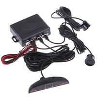 Wholesale LED Display Indicator Parking Car Reverse Radar Kit Sensors System v Black K426