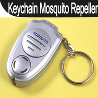Wholesale Pics Ultrasonic Anti Insect Mosquito Repeller Killer Electronic Insecticide Keychain