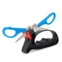 Wholesale 2 In Handheld Knife Slickers Grinder Scissors Blade Sharpener Sharpening Tool