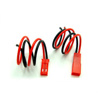 Wholesale HOT SELLING NEW mm JST Plug Battery ESC Male Female Wire Pin Connector