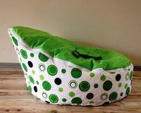 Wholesale cost green bubble doomoo baby beanbag love chair