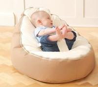 Wholesale cost original doomoo baby beanbag sitting chair beige top