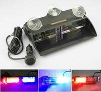 Wholesale car LED stroboscope lamp stroboscope lamp W or W VIPER S2 shovel light burst of flashing light LED Light Anti theft warning light