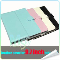 ainol tablet price - 2014 Hot Selling tablet Case Cover Folding Folio Case for All MID High quality Low Price Ainol Pink blue Hot Selling