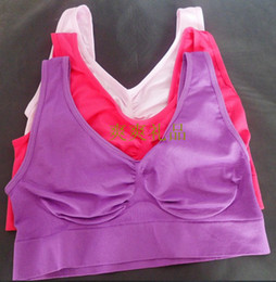 Wholesale 30pcs Colorful Sports Bra Yoga Bra S M L XL XXL XXXL pack